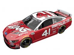Cole Custer 2020 HaasTooling.com Darlington Stewart-Haas Racing 1/24 Scale Elite Diecast
