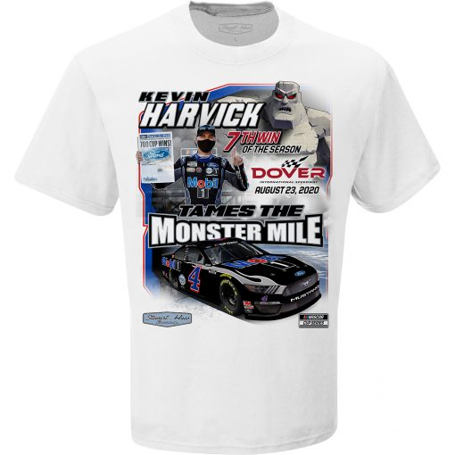 Kevin Harvick 2020 Mobil 1 Stewart-Haas Racing Dover Win Tee