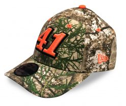 Cole Custer 2020 New Era #41 Camo Hat