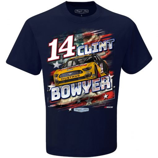 Clint Bowyer 2020 Rush Truck Centers Patriotic Tee