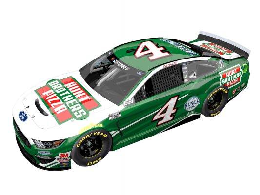 Kevin Harvick 2021 Hunt Brothers Pizza Stewart-Haas Racing 1/24 Scale HO Diecast