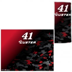 Cole Custer 2020 Sports Gaiter and Face Covering