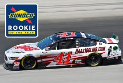 Cole Custer HaasTooling.com Stewart-Haas Racing 2020 Rookie of Year 1/24 Scale Diecast Galaxy Finish