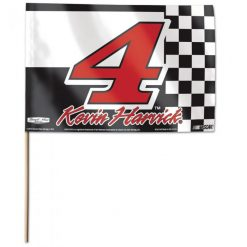 "Kevin Harvick Stick Flag 12"" x 18"""