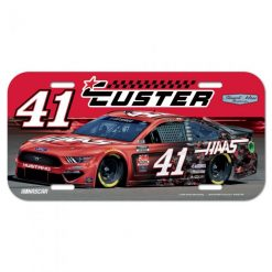 Cole Custer Stewart-Haas Racing Haas License Plate