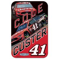 Cole Custer Stewart-Haas Racing Plastic Sign Haas