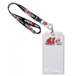 Cole Custer 2021 HaasTooling Stewart-Haas Lanyard and Credential Holder