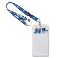 Chase Briscoe 2021 Stewart-Haas Racing Credential Holder and Lanyard