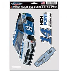 Chase Briscoe 2021 Stewart-Haas Racing 3 Pack Fan Decals