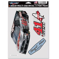 Cole Custer 2021 HaasTooling Stewart-Haas Racing 3Pk Decal Set