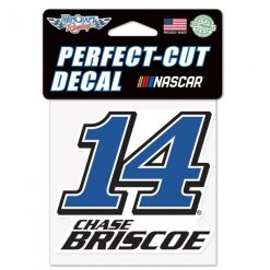 Chase Briscoe 2021 Stewart-Haas Racing 4x4 Decal