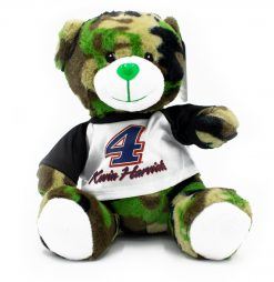 Kevin Harvick Stewart-Haas Green Camo Plush Bear