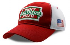 Kevin Harvick Hunt Brothers Pizza Stewart-Haas Racing 2021 Team Hat Red