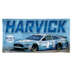 Kevin Harvick 2021 Busch Light Stewart-Haas Racing Beach Towel