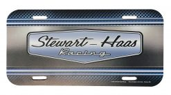 Exclusive Stewart-Haas Racing 2021 License Plate